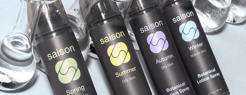 Premium organic skincare that hydrates all skin types from Saison #organicskincare #saison