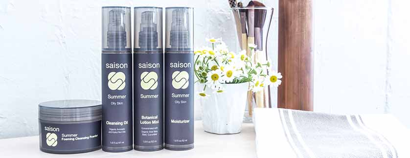 Saison Summer Organic Face Collection