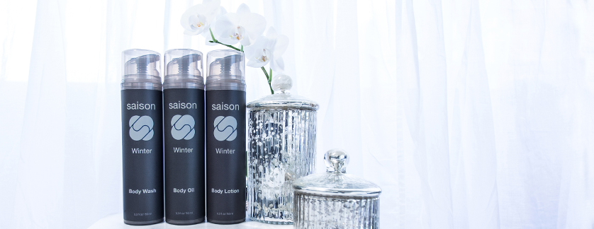 Saison Beauty Winter Body Collection