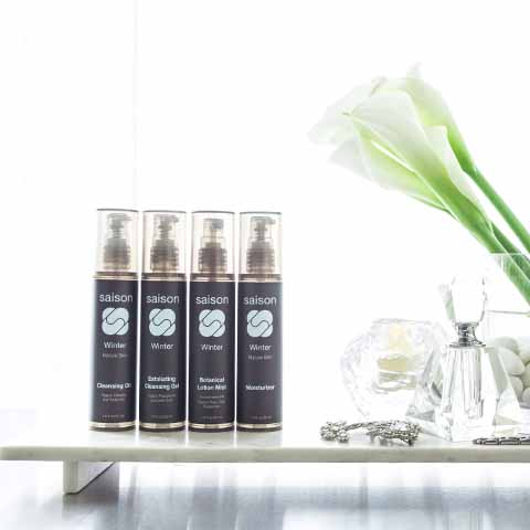 Saison Winter Organic Face Collection