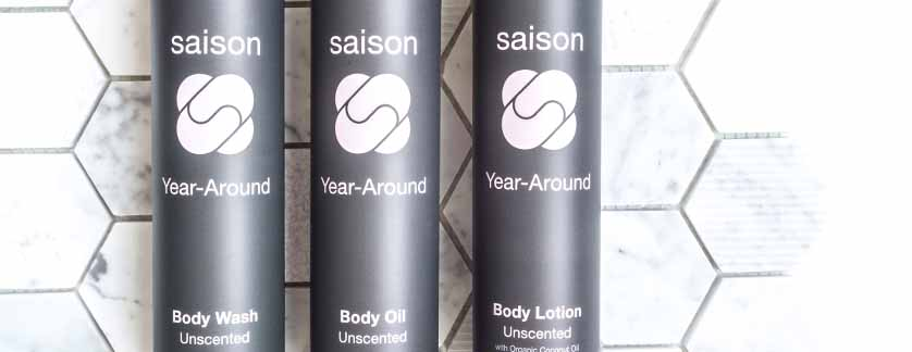 Year Around Body Collection - Unscented, Organic, Natural