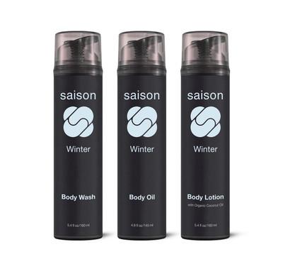 Saison   Winter Body Collection Gift Set   Organic Skincare