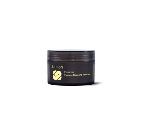 Saison | Summer Foaming Cleansing Powder | Organic Skincare