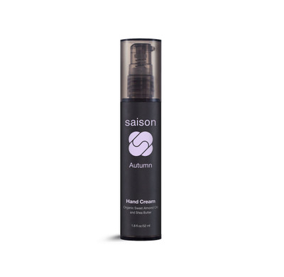 Saison | Autumn Hand Cream | Organic Skincare