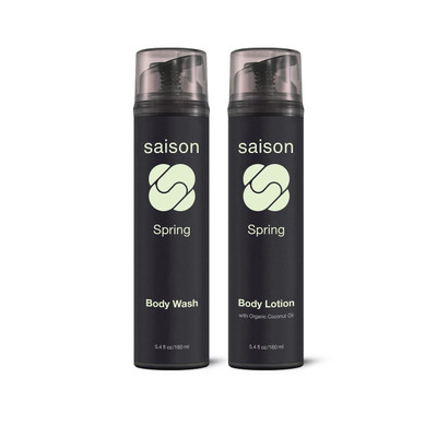 Saison Beauty Spring Body Essentials Gift Set   Organic Skincare