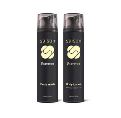 Saison Beauty Summer Body Essentials Gift Set   Organic Skincare
