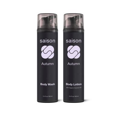 Saison Beauty Autumn Body Essentials Gift Set   Organic Skincare