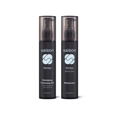 Saison Beauty Winter Essentials Gift Set   Organic Skincare