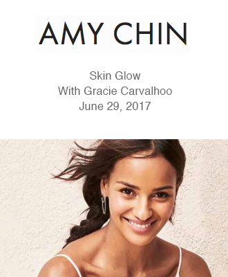 Saison Organic Skincare for Gracie Carvalhoo from Amy Chin Beauty