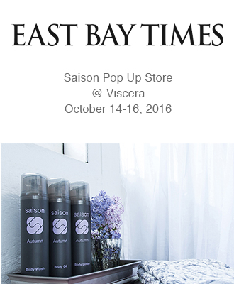 Saison Organic Skincare in East Bay Times