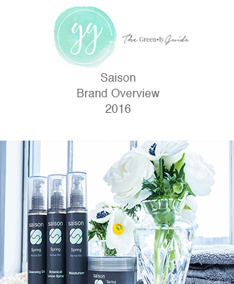 Saison Organic Skincare in Greenly Guide
