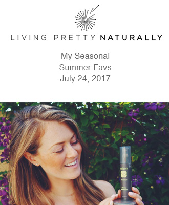 Saison Organic Summer Skincare Favs from Living Pretty Naturally