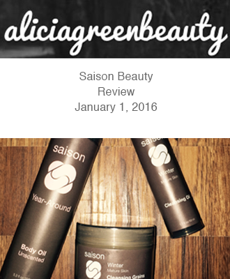 Saison Winter Collection in Alicia Green Beauty