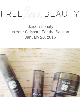 Saison Winter Collection in Free Love Beauty