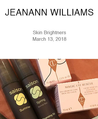 Jeanann Williams Stylist Spring Favorites with Saison Organic Skin Care