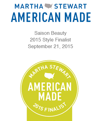 Saison in Martha Stewart American Made