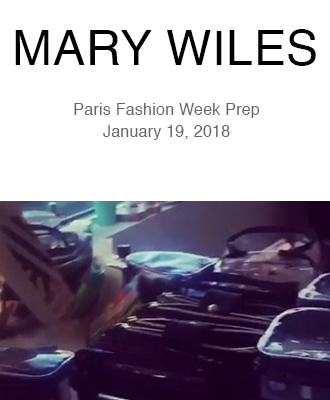 Mary Wiles Makeup Paris Fashion Week Prep with Saison Organic Skin Care