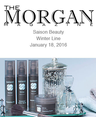 Saison Winter Collection in The Morgan Magazine