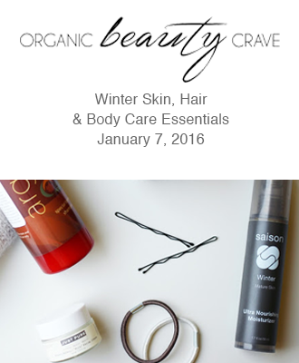 Saison Winter Collection in Organic Beauty Crave