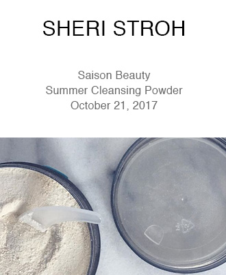 Sheri Stroh Makeup Using Saison Organic Summer Foaming Cleansing Powder
