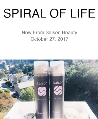 Spiral of Life Saison Organic Autumn Body Products