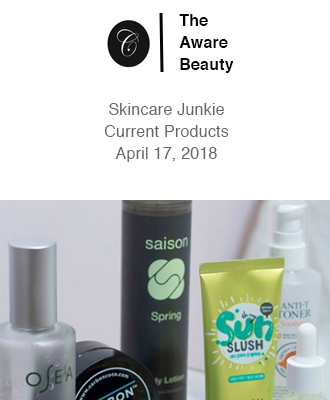 The Aware Beauty Spring Skincare Junkie With Saison Organic Skin Care