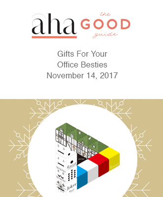 AhaLife The Good Life Gifts for Your Office Bestie With Saison Organic Skin Care