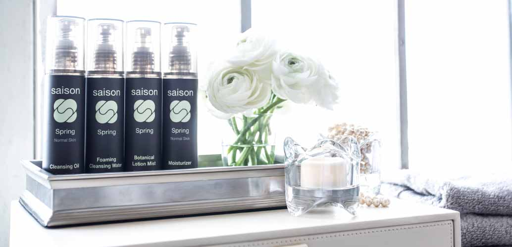 Saison Spring Organic Skincare Collection