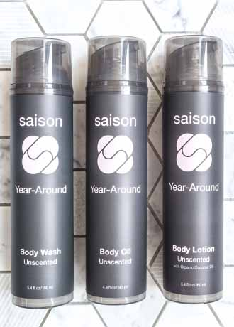 Saison Unscented Body Products