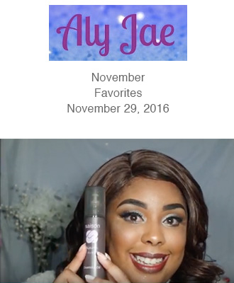 Saison November Favorites in Aly Jae