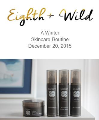 Saison Winter Collection in Eighth & Wild