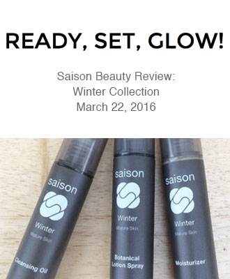 Saison Winter Collection Review