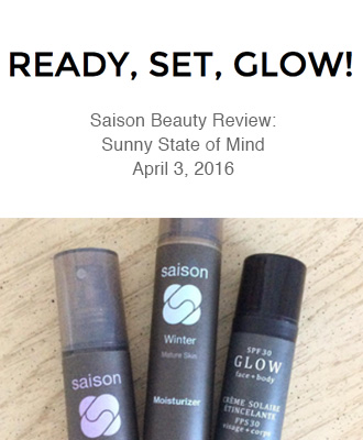 Saison Organic Skincare in Ready Set Glow