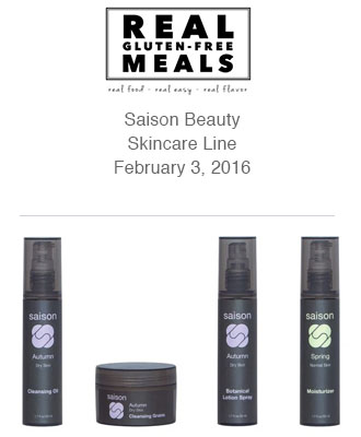 Saison Gluten Free Products in Real Gluten Free Meals
