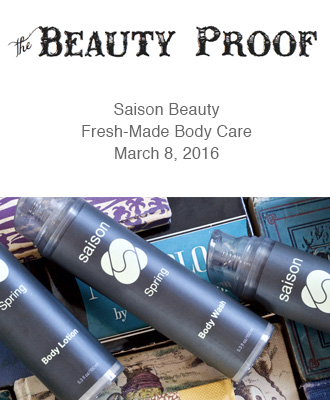 Saison Spring Body Collection in The Beauty Proof