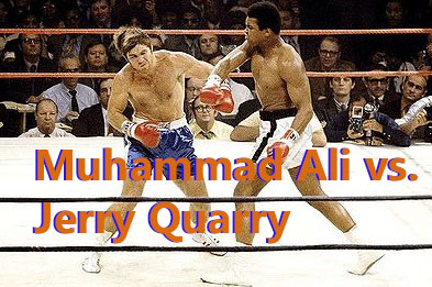 This is an excerpt of Muhammad Ali vs. Jerry Quarry