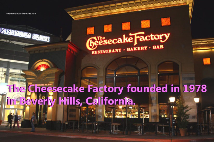 A Cheesecake Factory restaurant