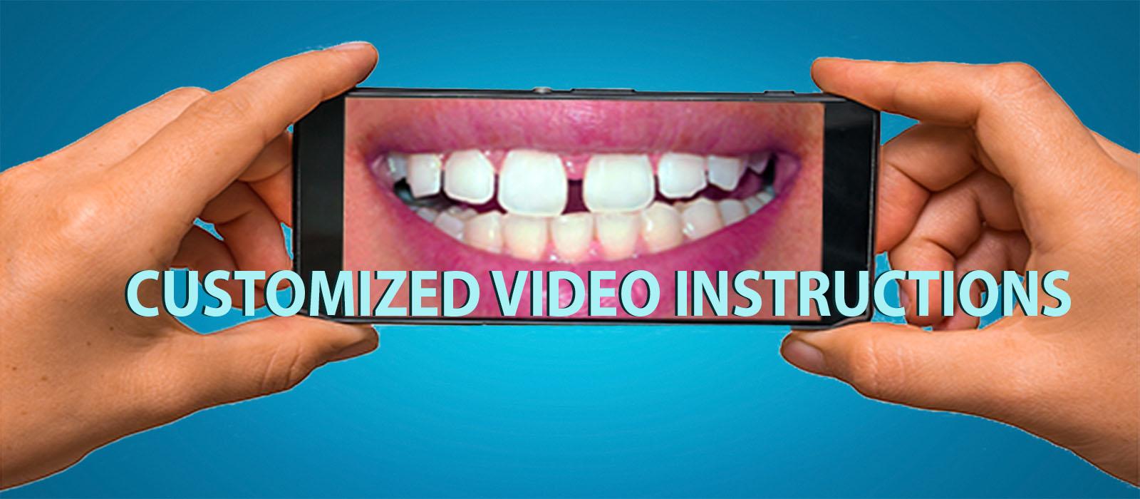 CUSTOM VIDEO INSTRUCTIONS