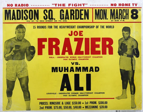 Fight of the Century promotional poster