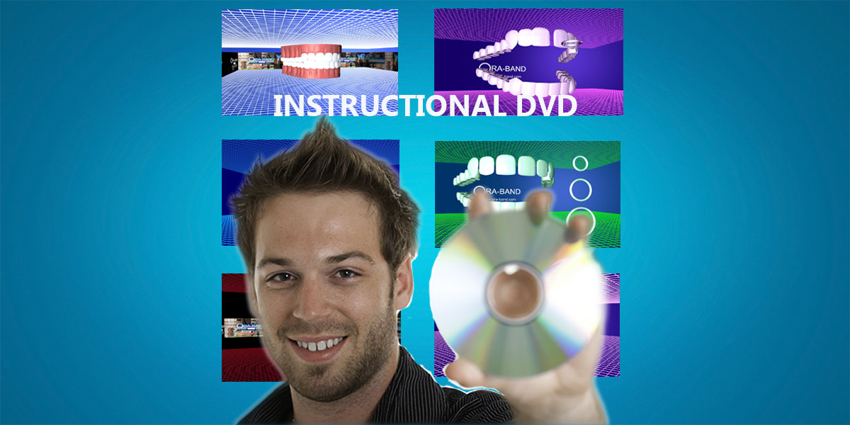 INSTRUCTIONAL DVD FOR USING ORA-BAND TO CLOSE GAPS IN TEETH