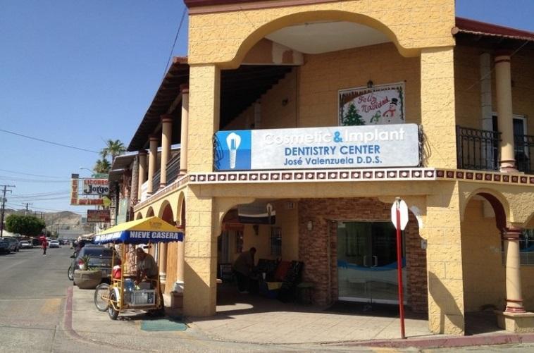 Los Algodones, Mexico dental office