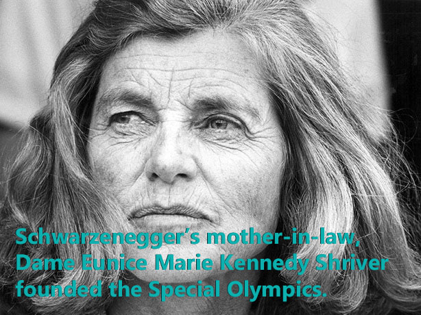 Eunice Shriver founded the Special Olympics