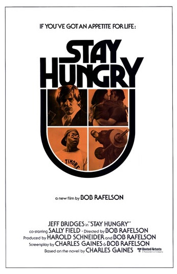 Promotional poster for Stay Hungry