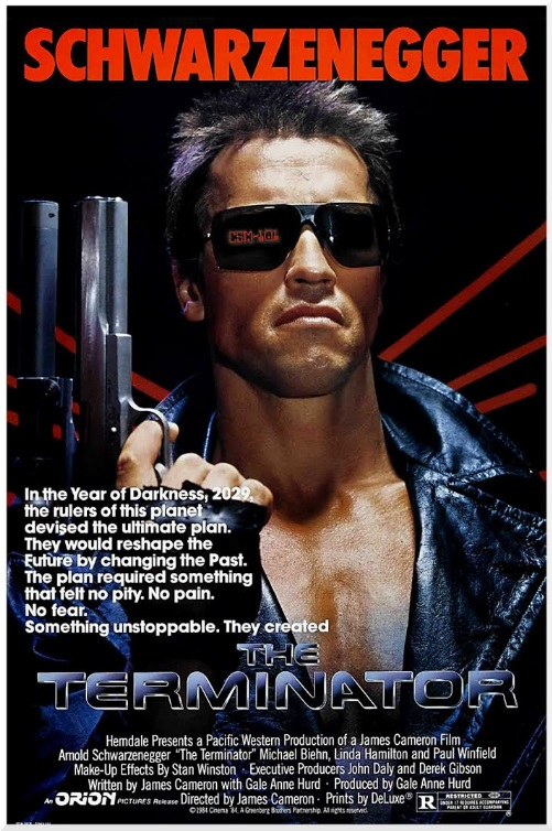 Promotional Poster for The Terminator