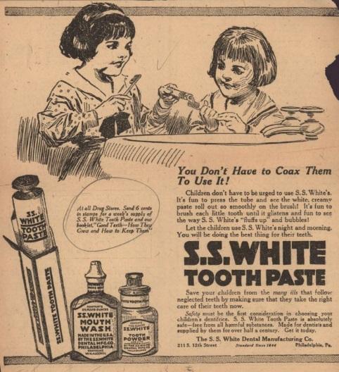 SS White Toothpaste