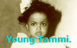 Tammi Terrell as a young girl