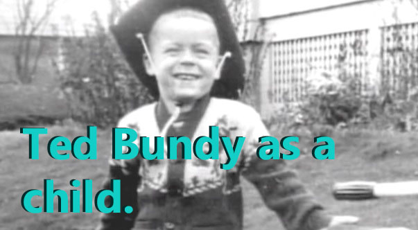 Ted Bundy as a child