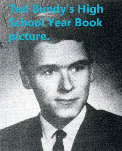 Ted Bundy's High School Year Book picture