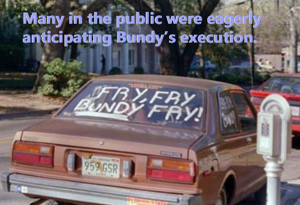 Many in the public were eagerly anticipating Bundy's execution