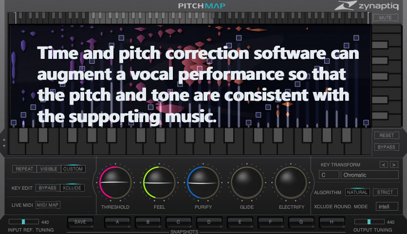 Time and Pitch correction software